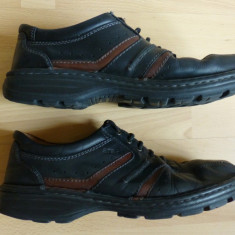 Pantofi Ara 100% piele naturala (, Handmade, cusuti manual; marime 44; ca noi - Pantofi barbati Ara, Culoare: Din imagine