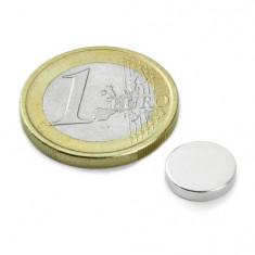 Magnet neodim disc, diametru 10 mm, putere 1, 2 kg