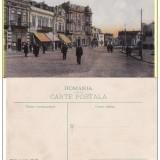 Constanta- Piata Independentei- rara - Carte Postala Dobrogea 1904-1918