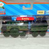 Thomas&Friends - Wooden Railway - EMILY cu vagon din lemn cu magnet - ( transport 3 RON la plata in avans ) - DE COLECTIE