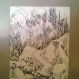 Tablou tus Pall Lajos - Pictor strain, Peisaje, Realism