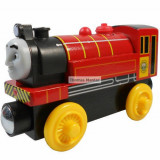 Wooden trenulet Thomas - VICTOR locomotiva din lemn cu magnet - 100% original