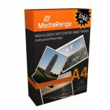 HARTIE FOTO A4 MEDIARANGE 220GSM GLOSSY INKJET 100COLI/TOP