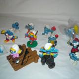 Strumfi, smurfs - Set 12 figurine cauciuc - Schleich, Bullyland, Peyo - set 4 - Figurina Desene animate