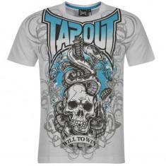 Tricou Tapout mas M si L-Lichidare stoc - Tricou barbati, Marime: M, L, Culoare: Alb, Maneca scurta, Bumbac