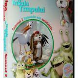 Film animatie Altele, DVD, Romana - Vipo si prietenii pe insula timpului - Colectie 4 DVD-uri desene dublate romana
