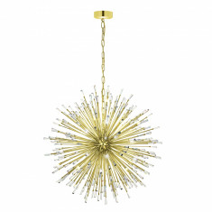 Lustra cristal Eglo Vivaldi by Gloockler 31463 placata cu aur 24k