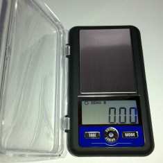 Cantar/Balanta - Cantar electronic de mare precizie cu platou inox pt bijuterii - AC 300g x 0.01g