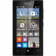 Lumia 435 Dual SIM Black - Telefon Microsoft
