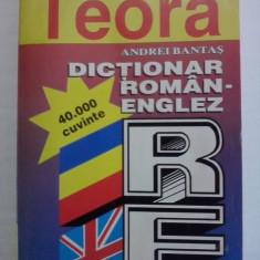 Dictionar roman/englez 40000 cuvinte - A. Bantas / R3P2F Altele
