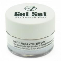 Bază de machiaj pentru ochi W7 Get Set Eye Shadow Base - White - Fond de ten L'oreal Paris, Compact