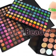 Trusa farduri 168 culori 02 Fraulein38 + 15 Concealer + Buretel Cosmetic CADOU - Trusa make up