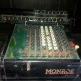Masina veche de calcul MONROE U.S.A. - Obiect decorativ deosebit !!