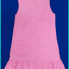 IMPECABIL _ Sarafan fetite, practic, din doc roz, ALIVE _ fete   11 - 12 ani