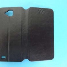 Husa Allview P5 Quad cu Stand Flip Cover Tip Carte - Husa Telefon Allview, Negru, Piele Ecologica