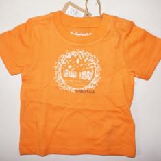Tricou copii/bebe TIMBERLAND - ORIGINAL! 3, 6, 9, 12 luni, Culoare: Orange, Baieti