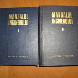 MANUALUL INGINERULUI (2VOL.) - GHEORGHE BUZDUGAN - ED.TEHNICA, 1965-66