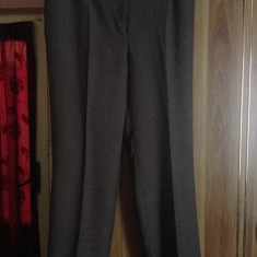 Pantaloni din in xxl - Pantaloni XXXL, Culoare: Maro