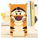 "Carcasa protectie spate ""tigru"" din silicon pentru Samsung Galaxy S5 - Husa Telefon"