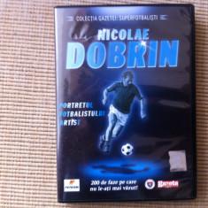 NICOLAE DOBRIN portretul fotbalistului artist dvd fotbal sport colectia gazetei