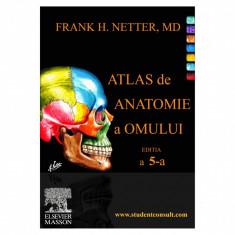 Atlas de Anatomie a Omului F.H. Netter editia a 5-a (limba romana) - NOU