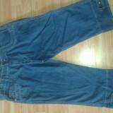 Pantaloni dama 3/4 blugi - Blugi dama, Marime: XXS, Culoare: Albastru