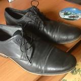 Oferta doar azi - Pantofi barbati Selected, Marime: 42, Culoare: Gri, Piele naturala