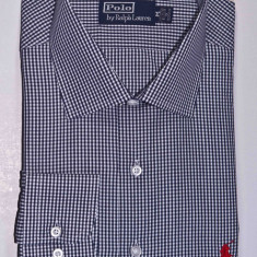 Camasi Polo by Ralph Lauren - model Slim-Fit marime M - Camasa barbati Tommy Hilfiger, Marime: M, Culoare: Negru, Maneca lunga