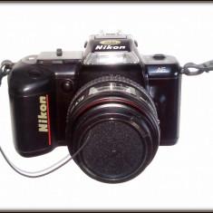 Aparat pe film NIKON F - 401body + obiectiv Tokina SD 28 - 70mm / 1:35 - 4, 5 - Aparat de Colectie