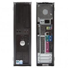Sisteme desktop fara monitor, Intel Core 2 Duo, 2501-3000Mhz, 4 GB, 100-199 GB, LGA775 - Calculator Dell 755DT Core 2 Duo E8400 3.0GHz, 4GB, HDD 160GB, GMA3100, DVD-RW