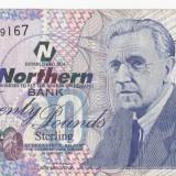 Bancnota Straine, Europa, An: 2000 - BBS1 - ANGLIA/IRLANDA - 20 LIRE STERLINE