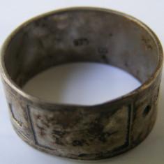 Inel argint - Inel vechi din argint (111) - de colectie