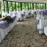 Vand decor nunta - botez-cununie pt 300 de persoane. Rog seriozitate.