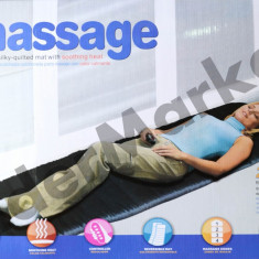 Pilota - Saltea cu masaj si incalzire cu 5 zone de masare