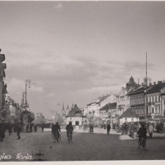 ARAD-BULEVARDUL REGINA MARIA - Carte Postala Crisana dupa 1918, Necirculata, Fotografie