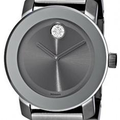Movado Women's 3600103 Bold Gunmetal-Tone Bracelet | 100% original, import SUA, 10 zile lucratoare af22508 - Ceas dama
