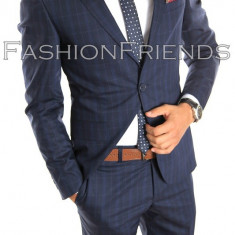 Costum tip ZARA - sacou + pantaloni - costum barbati casual office - 5002