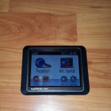 GPS GARMIN NUVI 205, Fara harta, Touch-screen display