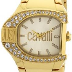 Just Cavalli Women's R7253160501 Logo Yellow   100% original, import SUA, 10 zile lucratoare af22508 - Ceas dama