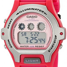 Casio Women's LW-202H-4AVCF Illuminator Pink Resin | 100% original, import SUA, 10 zile lucratoare af22508 - Ceas dama