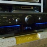 Amplituner Technics SA-AX7 cap de serie, VGCA, telecomanda, poze reale - Amplificator audio