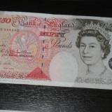Bancnota Straine, Europa, An: 1994 - Bancnota 50 pounds Anglia 1994