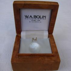 Frumoasa cutie din lemn pentru bijuterii, perioada anilor 1950 - Cutie Bijuterii
