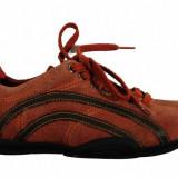 Adidasi dama - Pantofi sport Geox Respira, piele intarsa, marime 39