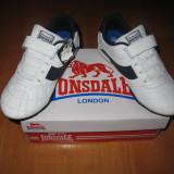 Adidasi piele naturala Lonsdale marimi 28, 29 - Adidasi copii, Culoare: Din imagine