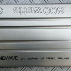 Amplificator audio - SOUNDWAVE BO-1100 amplificator auto de putere 800W