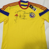 Tricou Romania cu Autografe