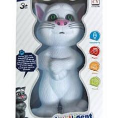 Figurina Animale - Jucarie vorbitoare Talking Tom Cat Mic Povesti Melodi inregistraza jucarie copii