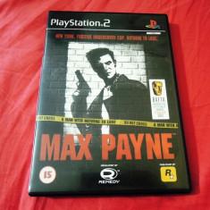 Joc Max Payne, PS2, original, 23.99 lei(gamestore)! Alte sute de jocuri! - Jocuri PS2 Rockstar Games, Actiune, 18+, Single player