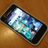Samsung Galaxy i9000 S (Galaxy S1) cu DEFECTE - Telefon mobil Samsung Galaxy S, Alb, 8GB, Neblocat